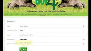 Account aanmaken netwerk Boe4